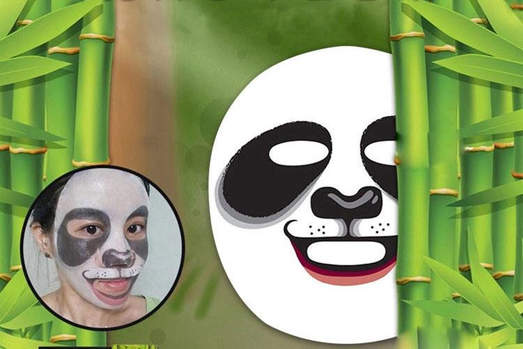 韩国snp动物面膜美白熊猫 25ml*10片/盒 环球购