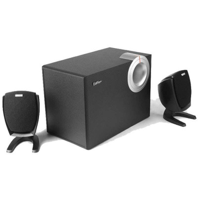 漫步者R201T06多媒体台式电脑2.1声音音箱 低音炮 木质音响 正品音响价格