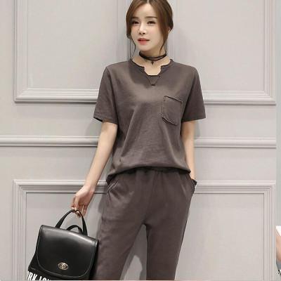 陶紫(TAOZI)夏季套装女2016新款时尚女装 夏装
