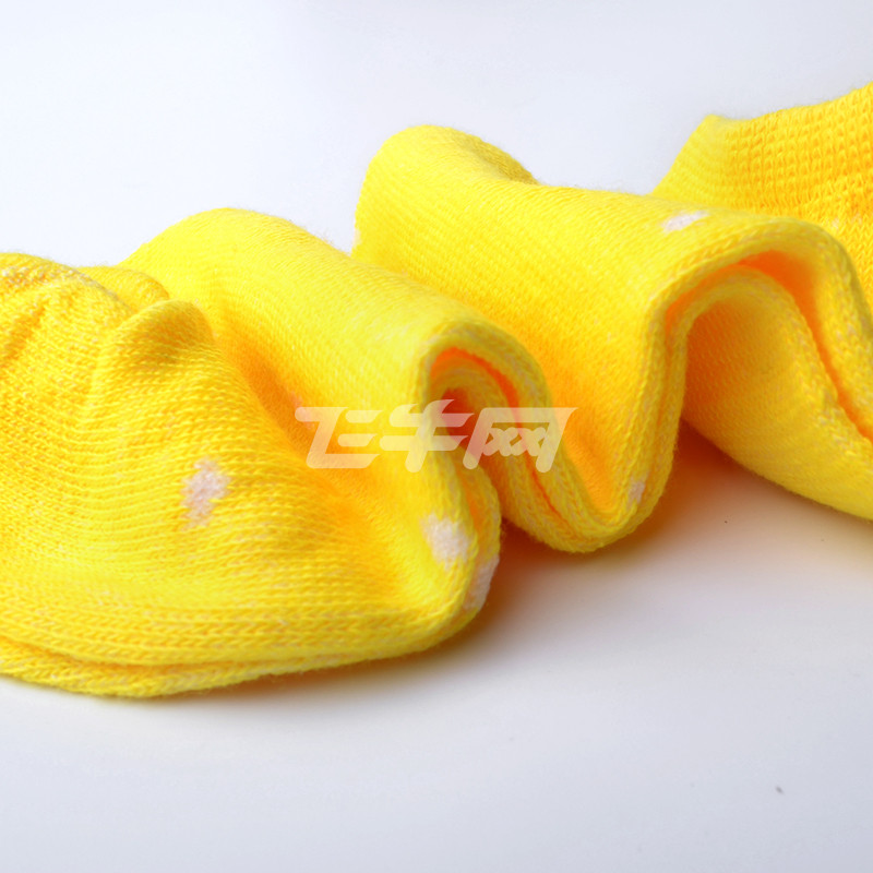 单夕 女士可爱波点四季船袜短款袜子女式春夏棉袜