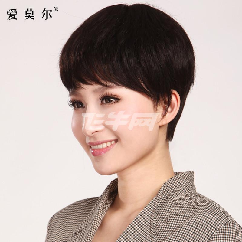 短发气质侧脸头像女分享展示