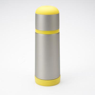 束氏 防撞 亲子 情侣 304食用级不锈钢保温杯 按压式出水 350ml/500ml