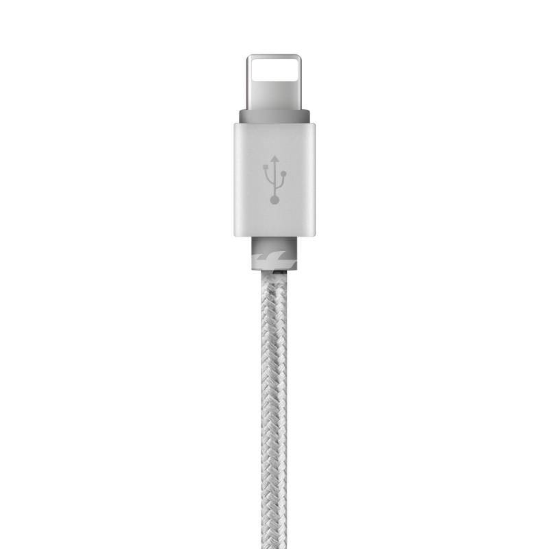 倍思苹果lightning安卓一拖三手机充电数据线金属线头