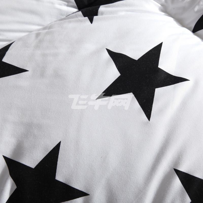 君爱 时尚黑白被子被芯200*240cm 星光大道 200*240cm
