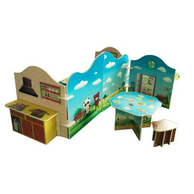 魔卡童新款幼儿园教学区角游戏 舞台表演道具 娃娃家