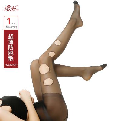 浪莎5D超薄防脱散丝袜夏季超薄包芯丝美肤防晒丝袜随意剪防勾丝袜SY001怎么样
