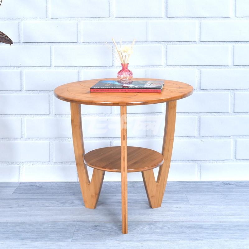 竹咏汇 楠竹桌子简约桌几实木休闲圆桌餐桌 茶几茶桌炕桌方桌时尚简约