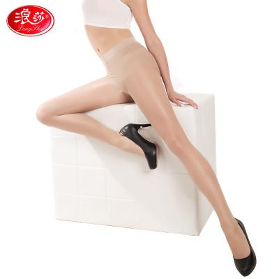 Z6860浪莎2条装拼裆连裤袜夏季防勾丝超薄款丝袜连裤袜隐形性感显瘦黑肉色女士长筒袜价格
