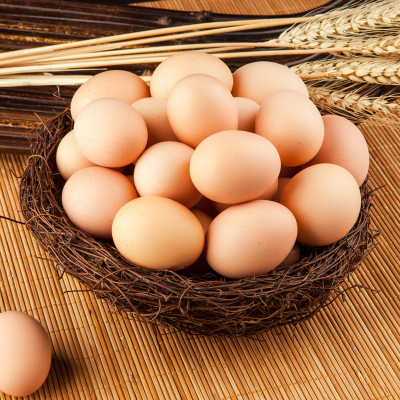 如东狼山鸡正宗狼山鸡土鸡蛋头窝蛋30枚装包邮