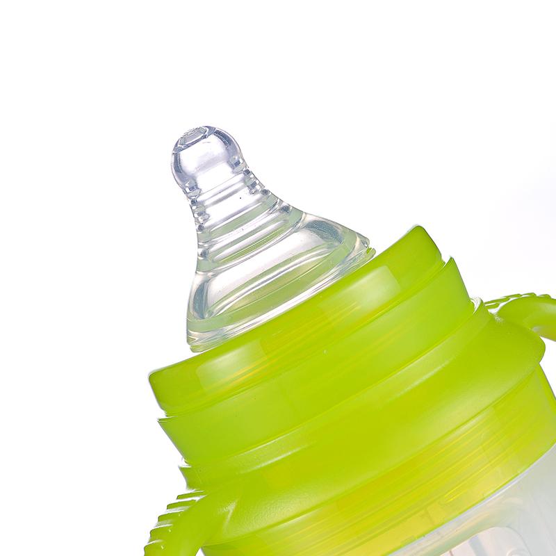 宽口玻璃奶瓶防胀气