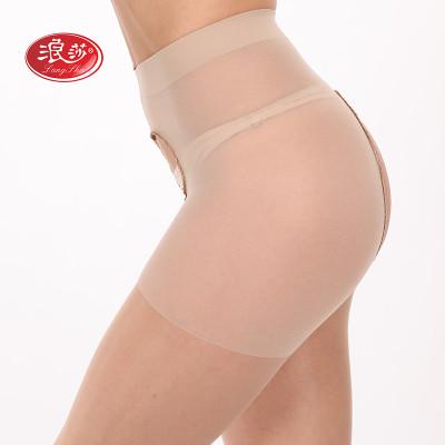 Z6854浪莎6条可外穿免脱包芯丝绢感觉连裤袜正品