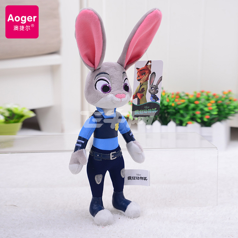 动物城公仔兔子朱迪狐狸尼克毛绒玩具