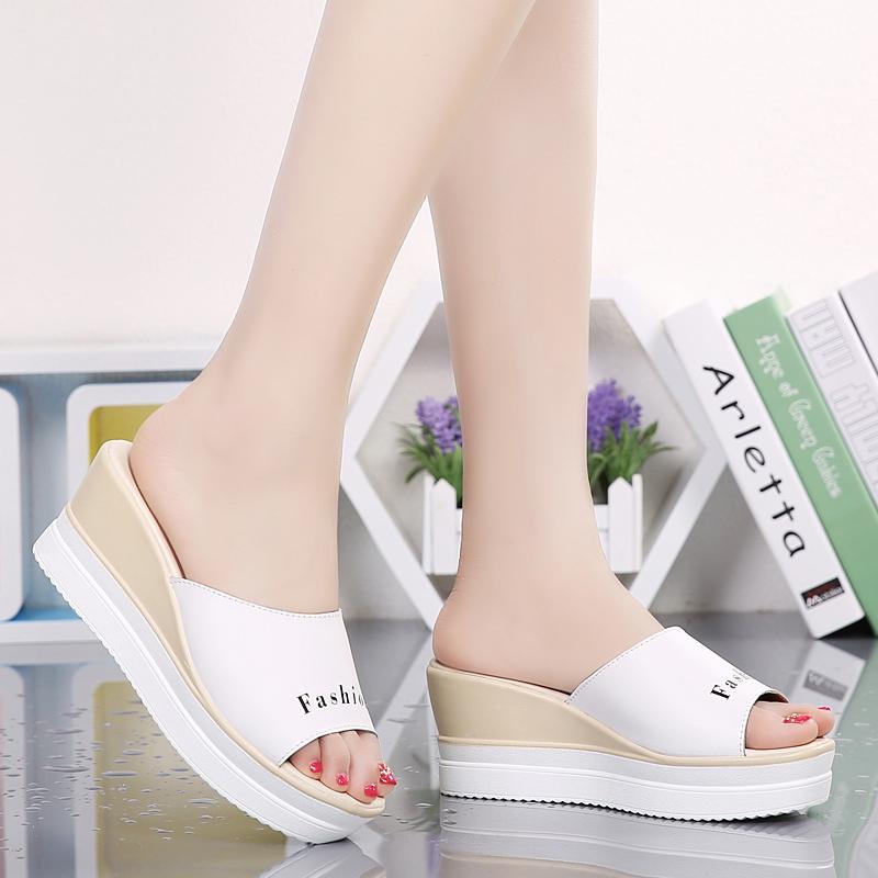 凉鞋女拖鞋韩版厚底