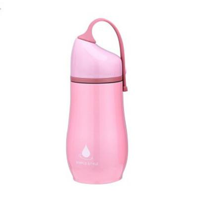 韩国创意便携保温杯女学生可爱情侣大肚杯儿童不锈钢葫芦水杯子