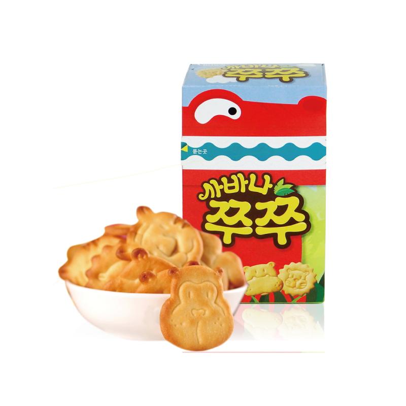 韩国02可瑞安02小动物饼干0270g/盒02环球购